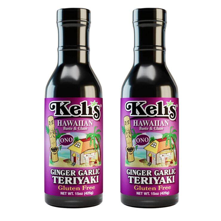 Keli's Ginger-Garlic Teriyaki Sauce