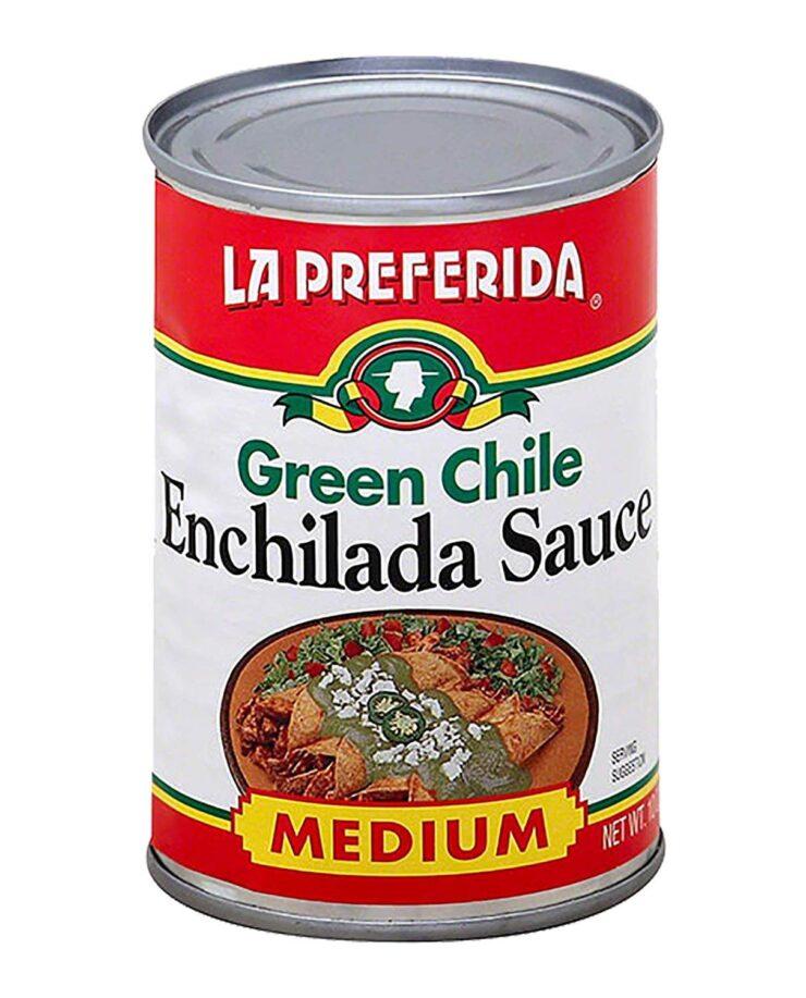 La Preferida Green Chile Enchilada Sauce