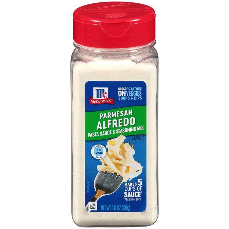 McCormick Parmesan Alfredo Pasta Sauce & Seasoning Mix