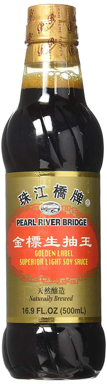 Pearl River Bridge Golden Label Superior Light Soy Sauce
