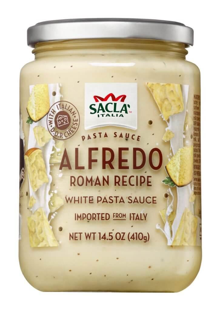 Sacla Italia Alfredo Roman Recipe White Pasta Sauce