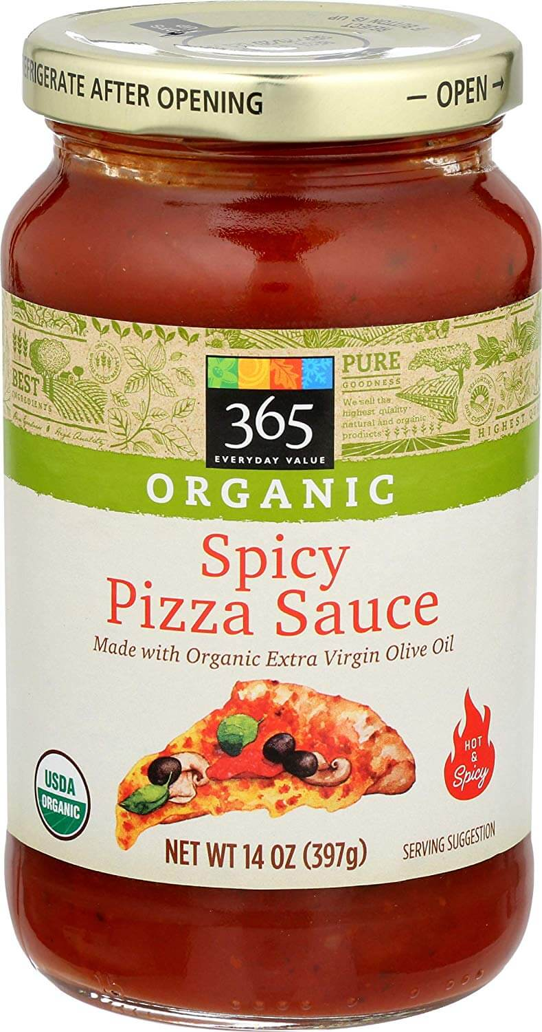 365 Everyday Value Organic Spicy Pizza Sauce