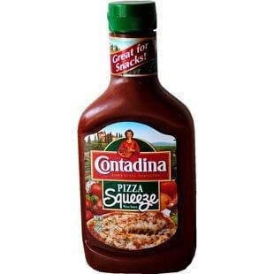 Contadina Pizza Sauce Bottle