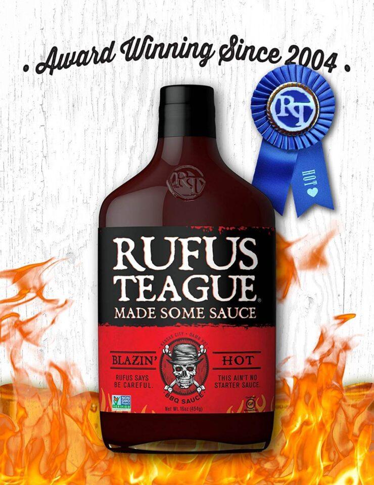 Rufus Teague Blazin' Hot BBQ Sauce