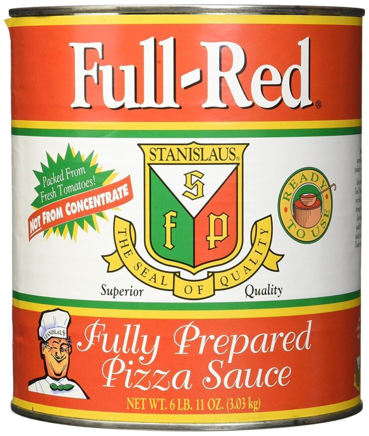 Stanislaus Full Red Fully Prepared Pizza Sauce