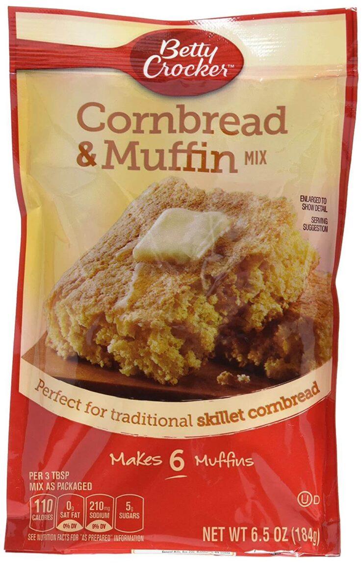 Betty Crocker Muffin Mix and Authentic Cornbread Mix