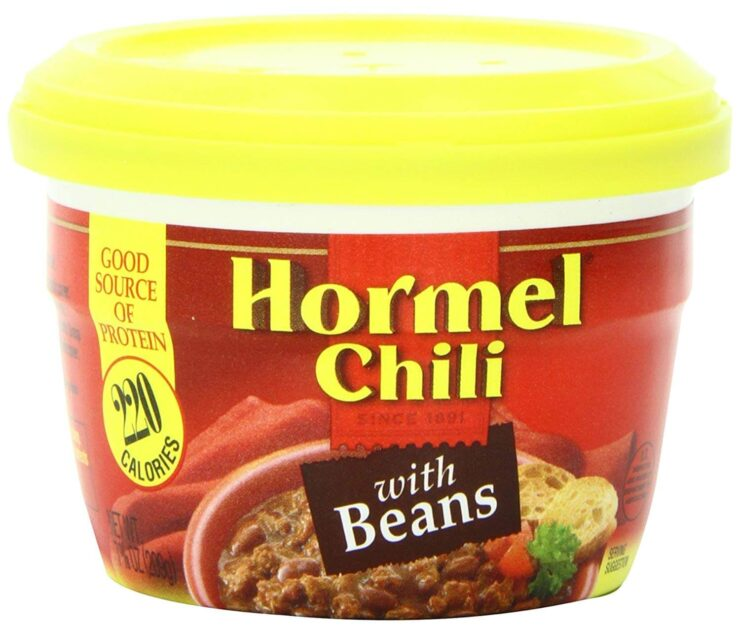 Hormel Chili Microwavable Cup Chili With Beans