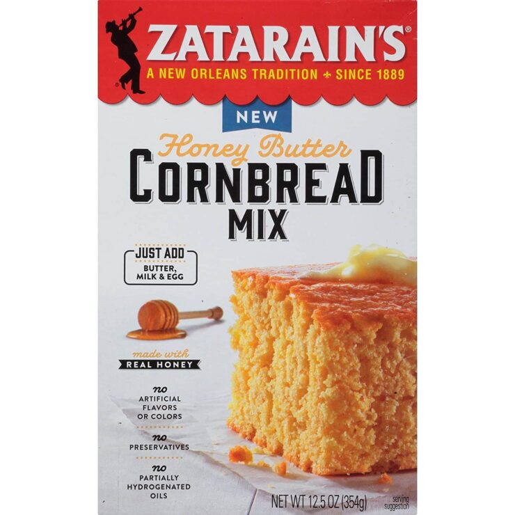 Zatarain's Honey Butter Cornbread Mix