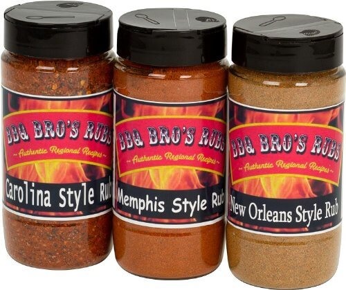 BBQ BROS RUBS - Ultimate Barbecue Spices Seasoning Set