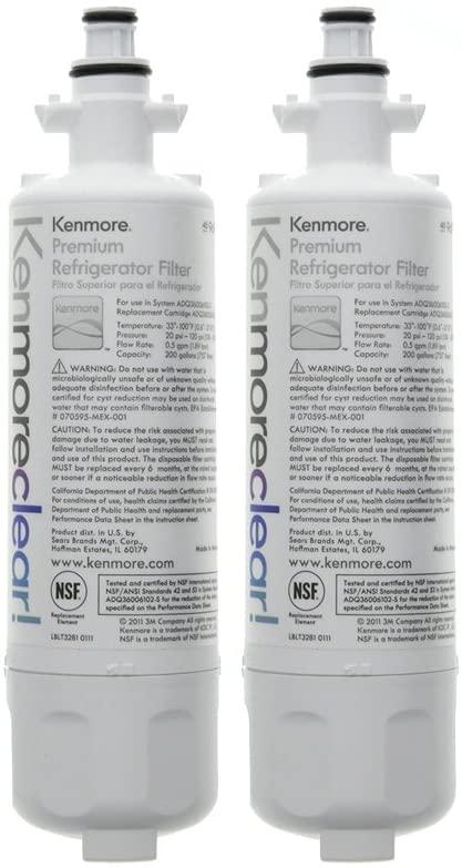 Kenmore 9690 Refrigerator Water Filter