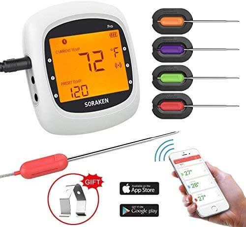Soraken Wireless Meat Thermometer