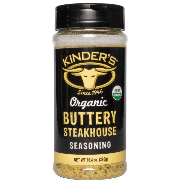 Kinder's Organic Buttery Steakhouse Seasoning Rub