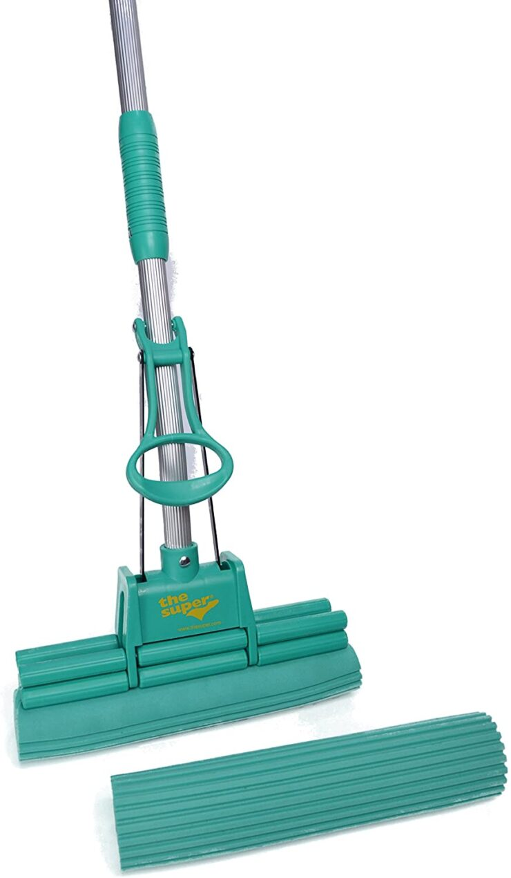 The Super Standard Double Roller PVA Sponge Mop Set