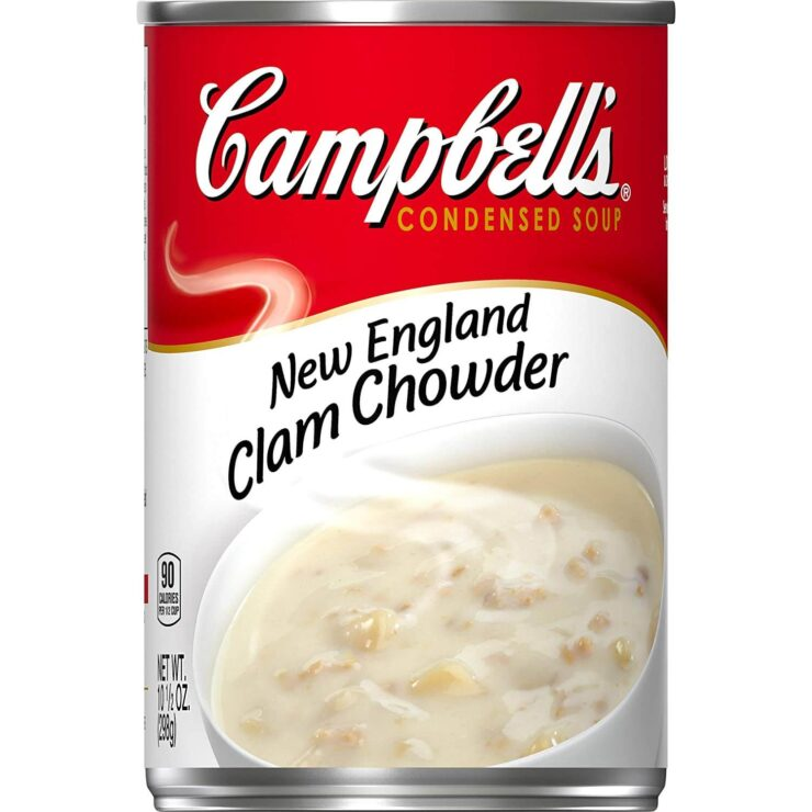Campbells Condensed New England Clam Chowder