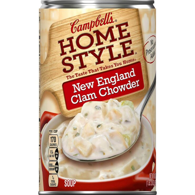 Campbells Homestyle New England Clam Chowder