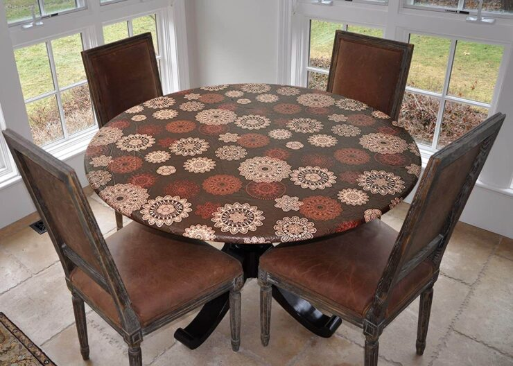 Covers For The Home Deluxe Elastic Edged Table Cover