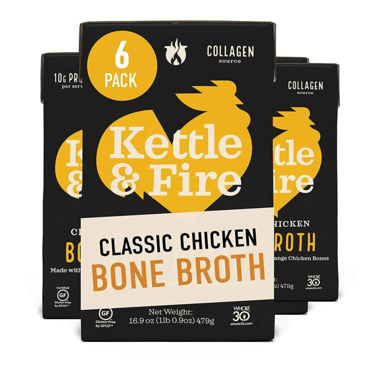 Kettle and Fire Chicken Bone Broth Soup