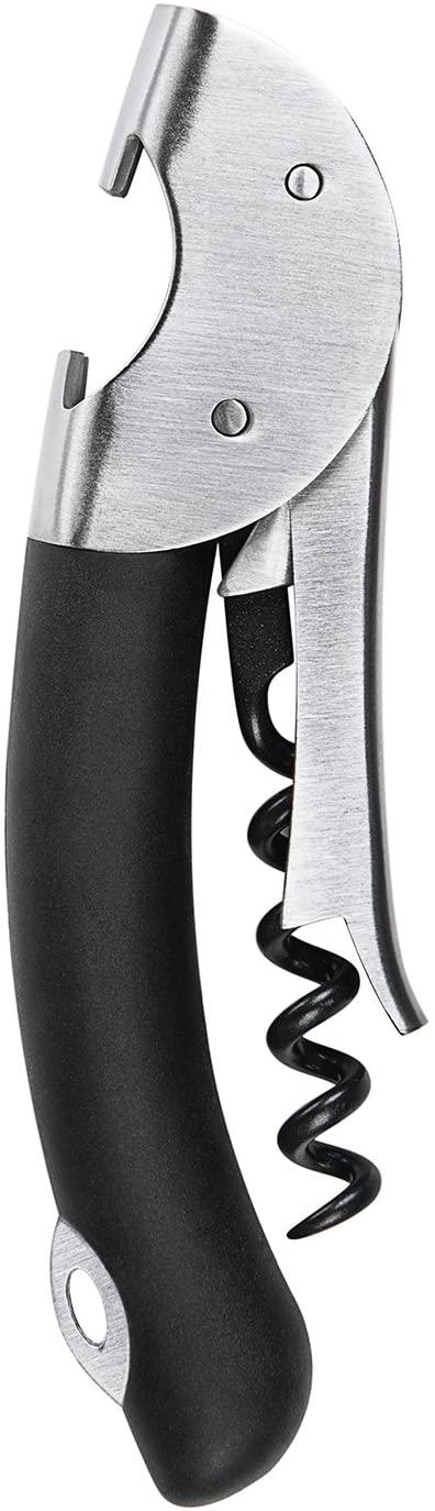 OXO 3110200 Steel Double Lever Waiter's Corkscrew