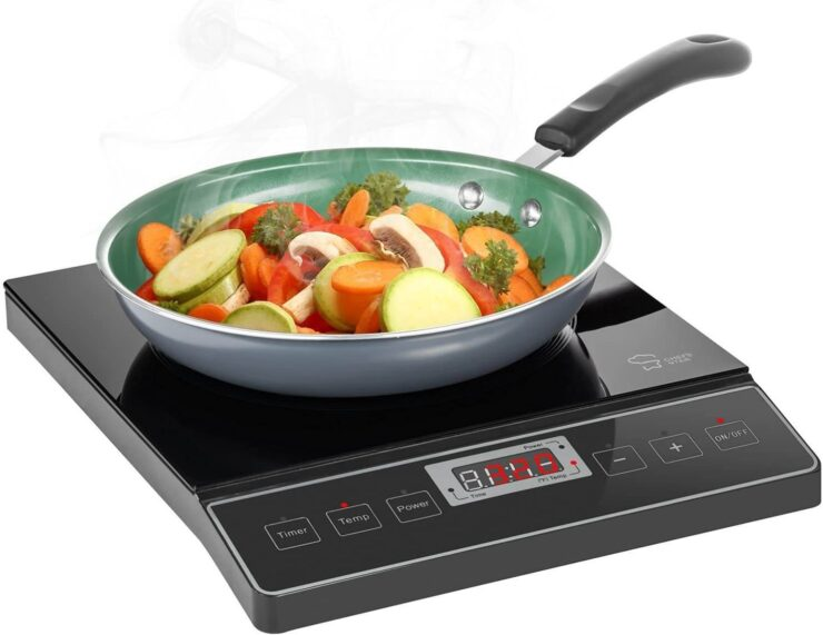 Chefs Star 1800W Portable Induction Cooktop Countertop Burner