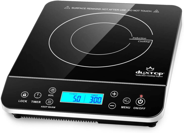 Duxtop Portable Induction Cooktop with LCD