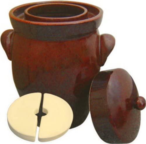 HeaBoom K&K Keramik German Made Fermenting Crock Pot