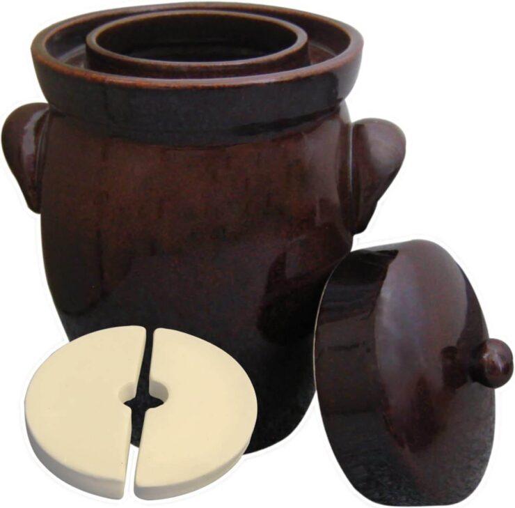 Kerazo - 5L K&K Keramik German Made Fermenting Crock Pot
