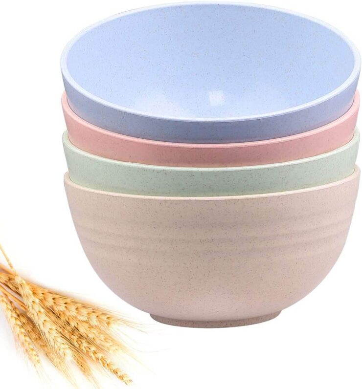 DUOLUV Unbreakable Cereal Bowls
