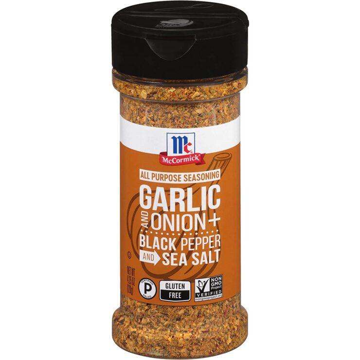 McCormick Garlic and Onion, Black Pepper and Sea Salt All Purpose Seasoning