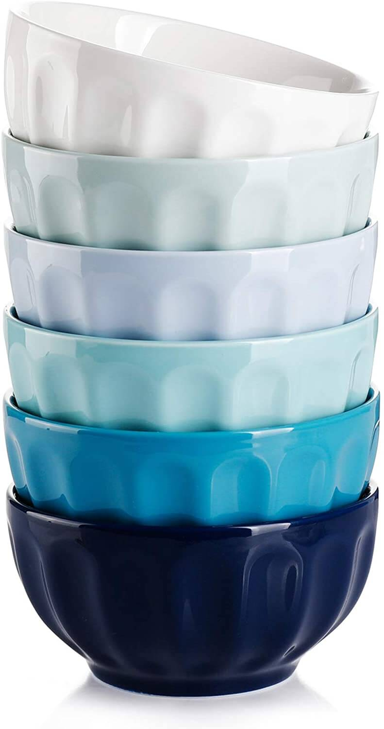 Sweese 126.003 Porcelain Fluted Bowls