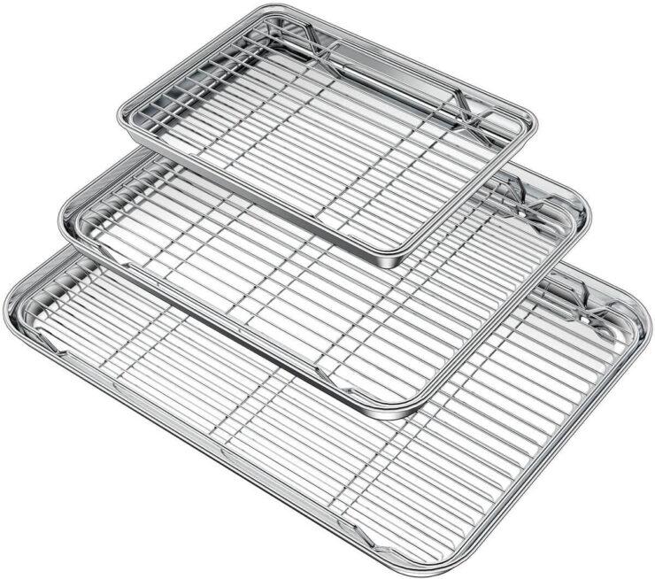 Wildone Baking Sheet with Rack Set