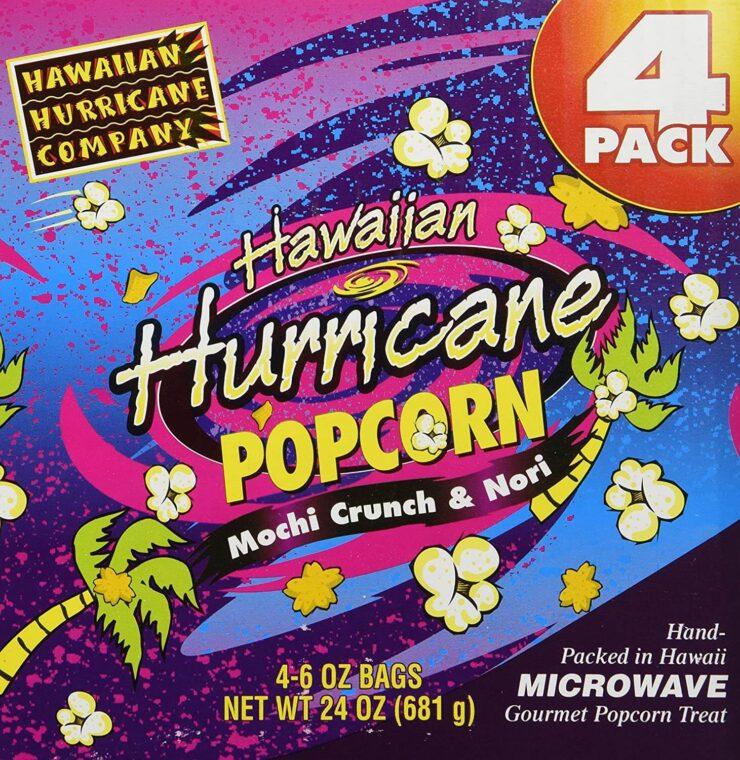 Hawaiian Hurricane Microwave Popcorn