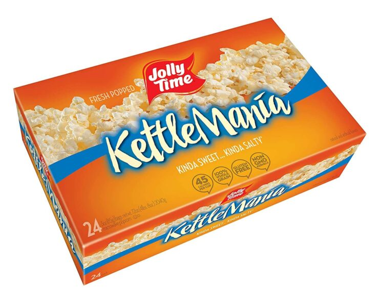 Jolly Time KettleMania, Sweet and Salty Gourmet Kettle Microwave Popcorn