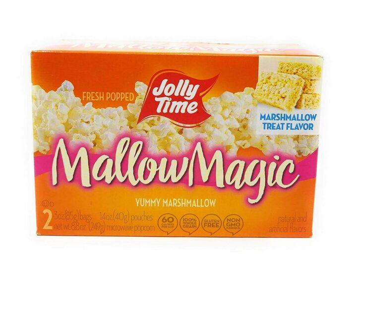 Jolly Time Mallow Magic Marshmallow Flavor Microwave Popcorn