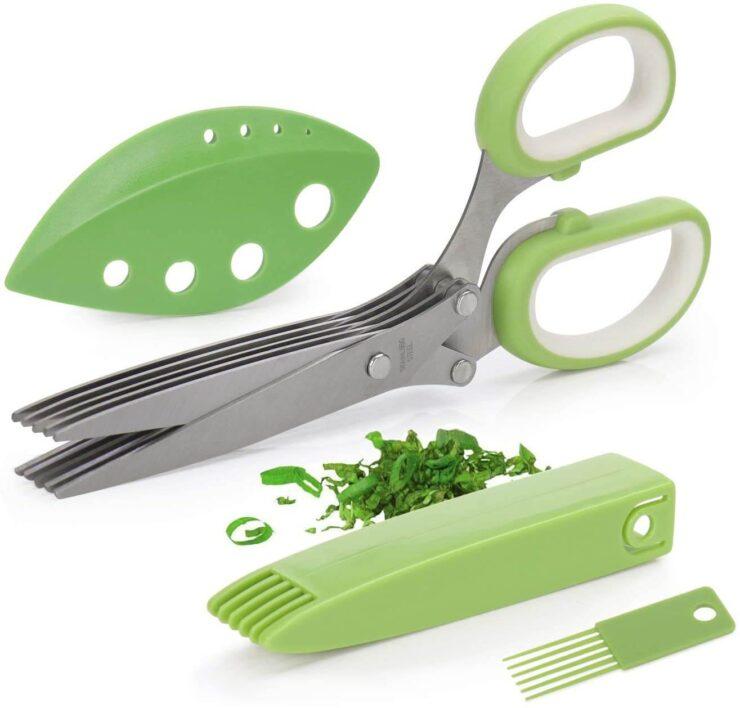 Joyoldelf Gourmet Herb Scissors Set