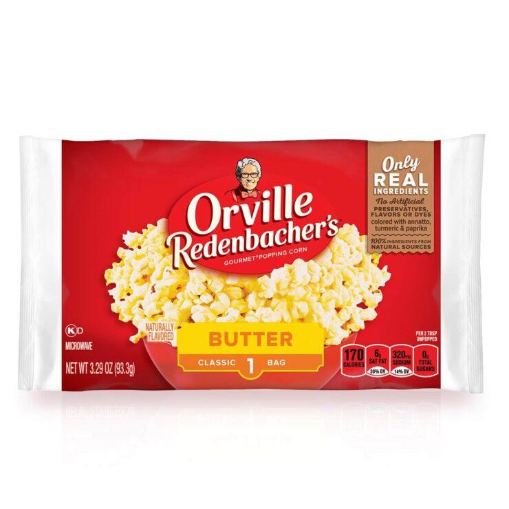 Orville Redenbachers Butter Popcorn