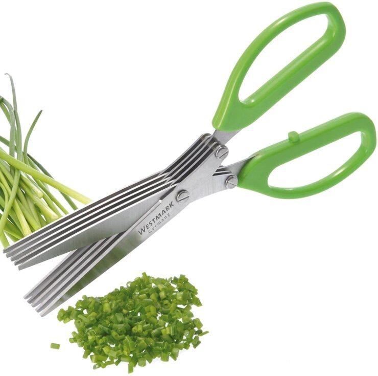 Westmark Germany Stainless Steel 5-Blade Herb Scissors