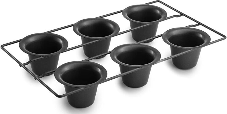 Bellemain 6 Cup Popover Pan