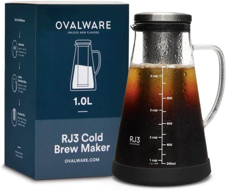 Ovalware Cold Brew Iced Tea Maker